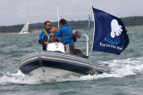 Toe In The Water RIB at Cowes Week 2012
