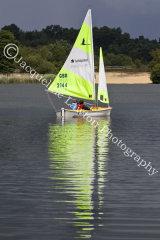 Sail No 2144 at Frensham Ponds SC 10 Hour Race 2014