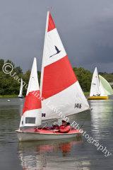 Sail No 1416 at Frensham Ponds SC 10 Hour Race 2014