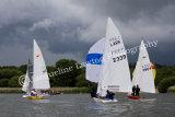 Sail No 346, Sail No 2339 & Sail No 1964 at Frensham Ponds SC 10 Hour Race 2014