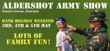 flyer for Aldershot Army Show Event