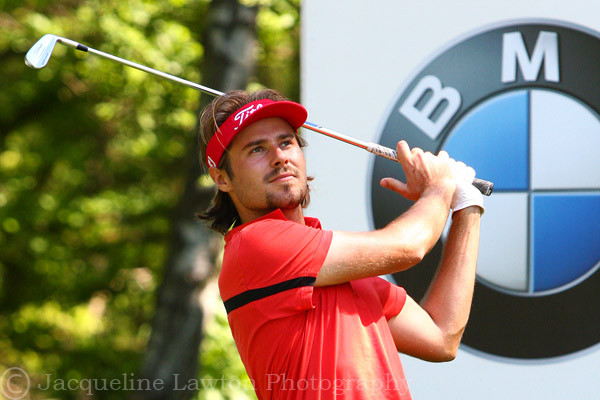 Victor Dubuisson at BMW PGA Championship