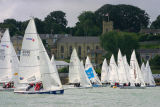 sailing at Cowes, Isle of Wight