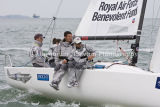 J/70 Class, Team RAFBF Spitfire racing at Cowes 2013