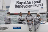 Royal Air Force Benevolent Fund sailing at Cowes
