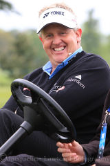 relaxed Colin Montgomerie