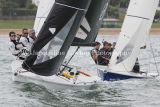SB20 Class, SportsBoatWorld.com racing on Wednesday 7th August at Cowes 2013