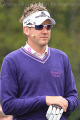 Ian Poulter at Golf Live