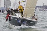 Class 5 IRC, Alaris racing at Cowes on Wed 7th August 2013