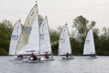 Solo Open - sailing at Kingsmead SC