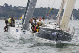 Class 5 IRC, Raging Bee & Alaris racing on Wed 7th Aug at Cowes 2013