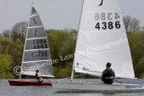Sailing Solo at Kingsmead SC ~ Sail No 4803 & No 4386