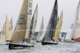 Class 6 IRC racing at Cowes