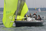 Class 5 IRC, King Louie racing at Cowes