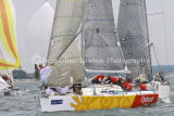 Class 5 IRC, Upbeat White Knight of Wess racing at Cowes 2013