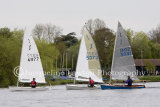 Kingsmead Sailing Club hosts Solo Open on Saturday 12th April
