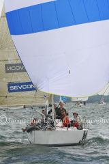 Class 6 IRC, Chia Chia racing at Cowes 2013