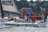 Class 1 IRC, Secret Mens Business from Australia, racing at Cowes 2013
