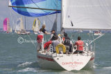 Class 6 IRC, Gravity Boots racing at Cowes 2013
