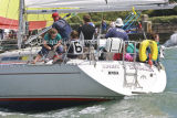 Class 6 IRC, Spirit of Daedalus racing at Cowes
