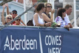 Cowes 2013, spectators watching the racing