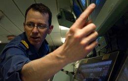 Cdr Jules Lowe, marine engineer