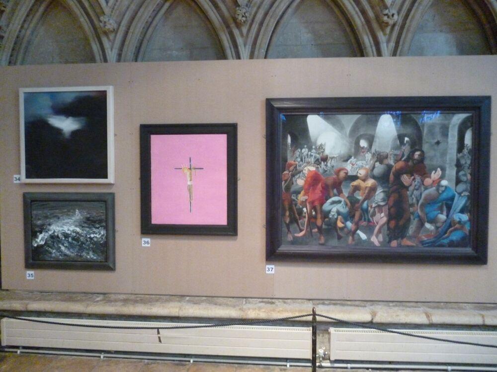 untitled Pentecost Lincoln cathedral, alongside Elizabeth Frink Craigie Aitchison and Edward Burra