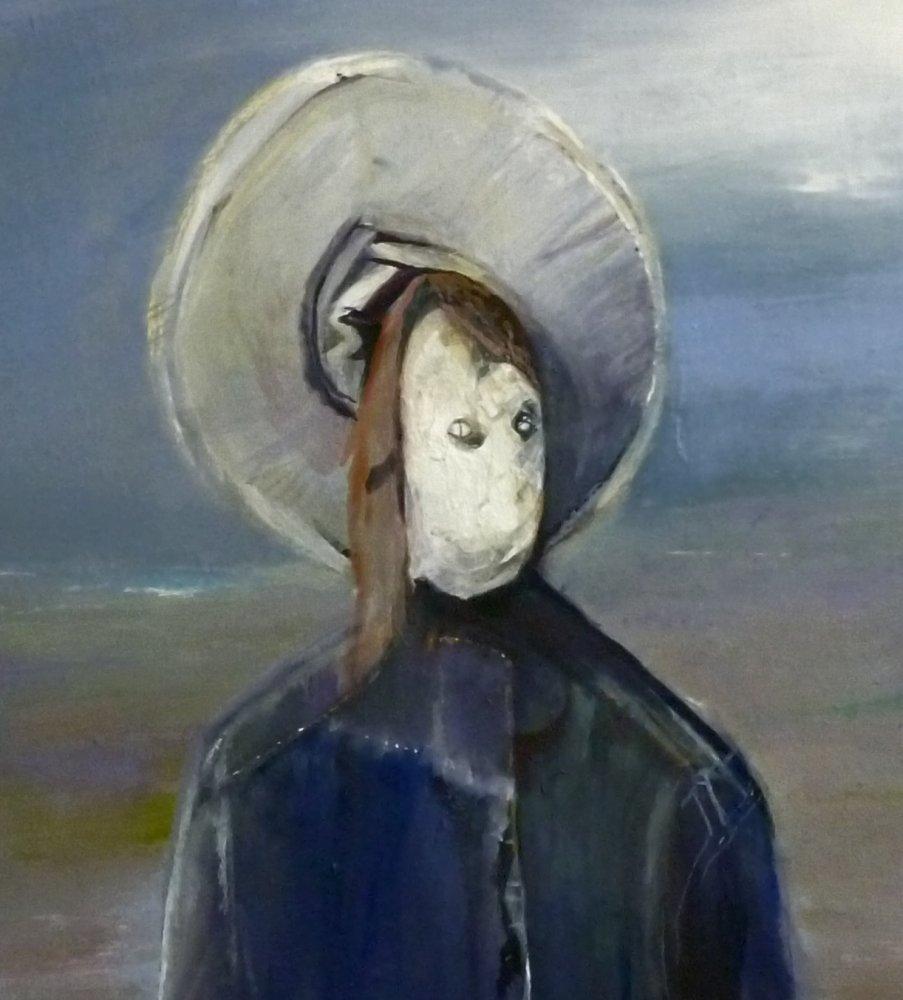 Maximillian scarecrow after the emperor Maximillian ( Manet )