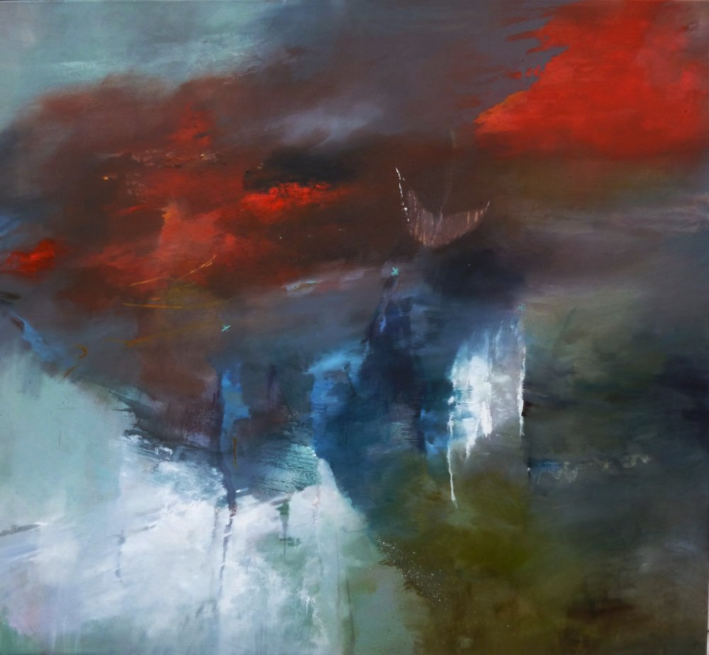 Over to You 110 by 120 cms