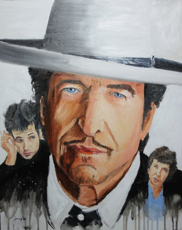 Bob Dylan and earlier images for JB/50; NFS