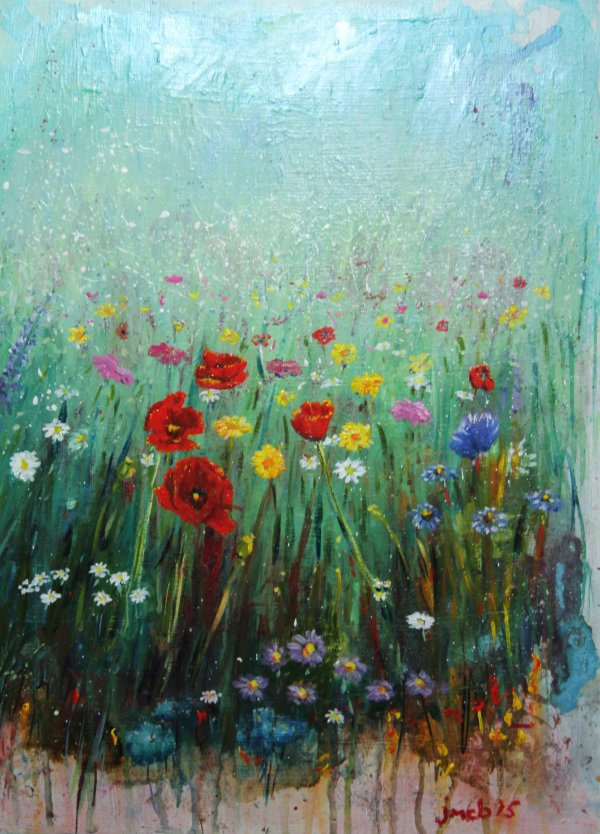 An English meadow; SOLD