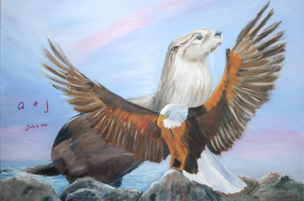 The otter and the eagle! NFS