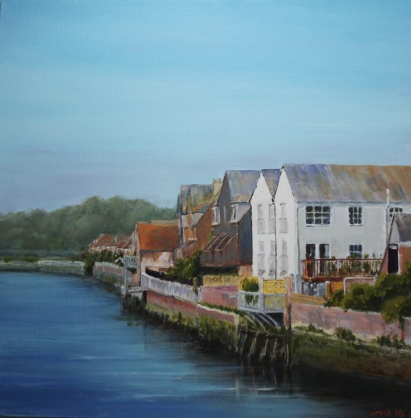 Along the river at Arundel; sold