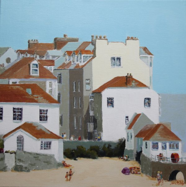 A corner of St Ives, Cornwall