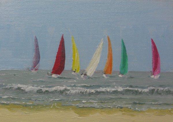 Sailing off Ferring; sold