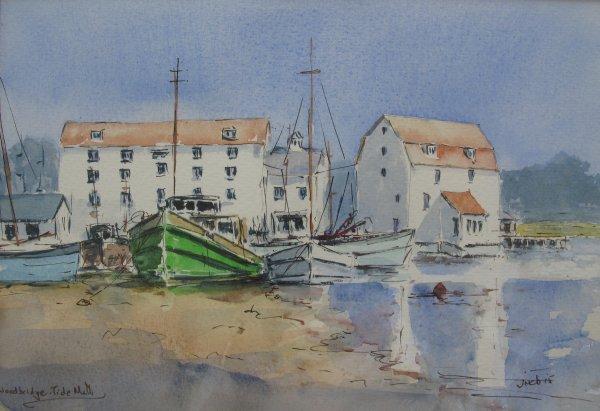 Tide Mill at Woodbridge, Suffolk; sold