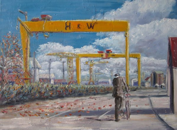 Last man out of the shipyard; commission