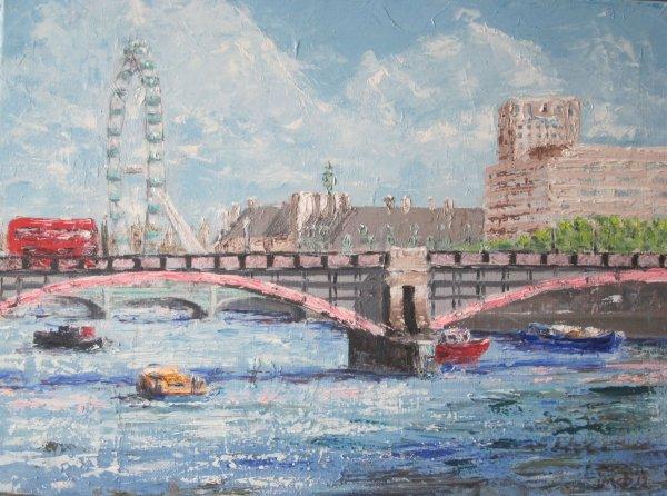 London's Lambeth Bridge; sold