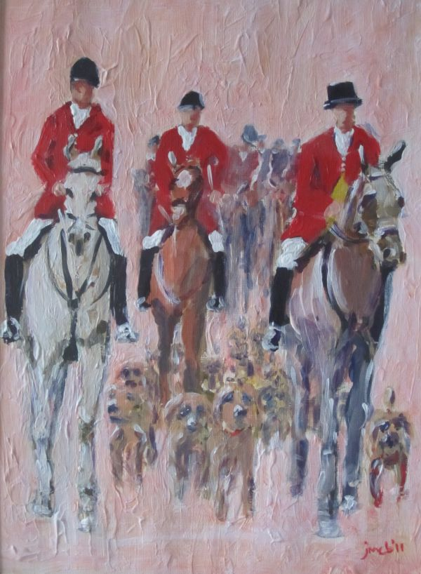 Horses and hounds; sold
