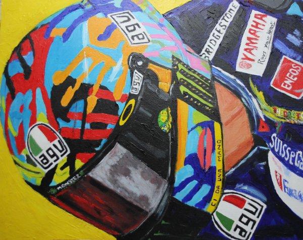 Rossi helmet; commission