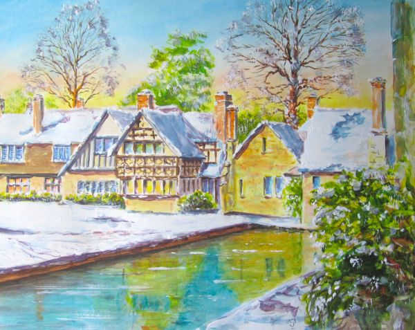 The houses at Hever Castle; sold