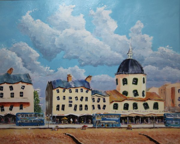 Wonky Worthing - the Dome on the seafront; sold