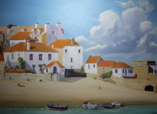 St Ives and its boats;NFS