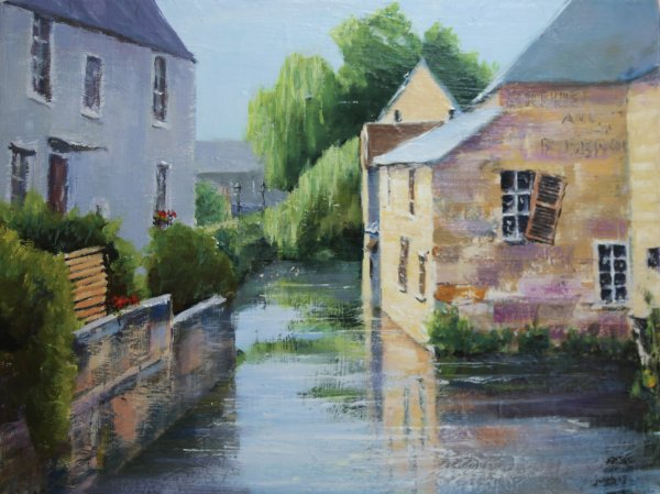 River Aure at Bayeux; sold