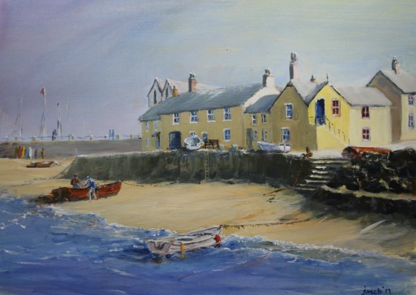 Mousehole, Cornwall; sold