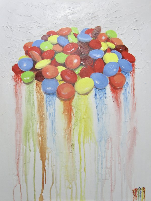 Melting M&Ms; gifted