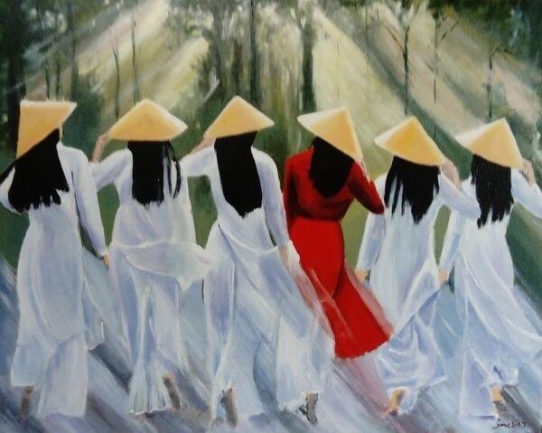 Vietnamese ladies; sold