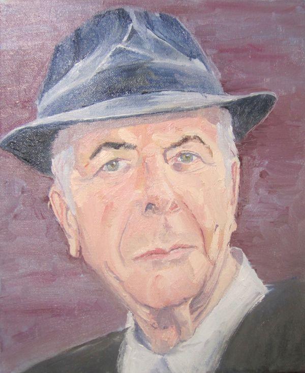The inimitable Leonard Cohen