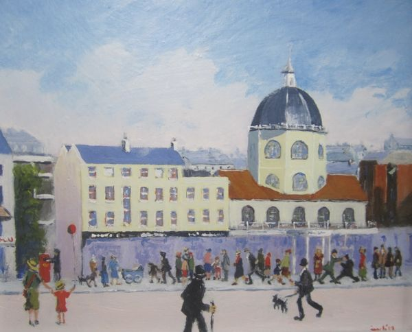 When Lowry came to Worthing