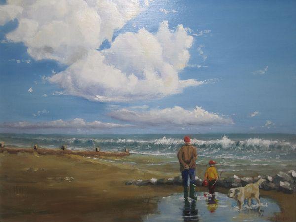 On Ferring beach; sold